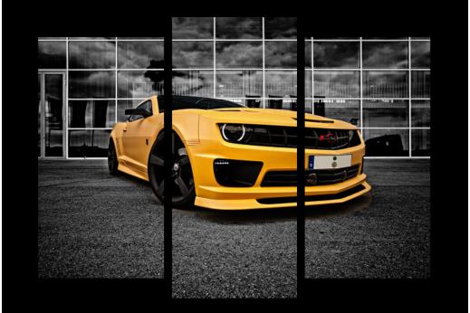 Модульная картина Chevrolet Camaro