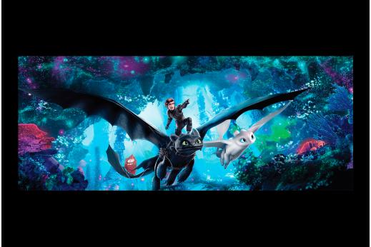Постер Как приручить дракона 2